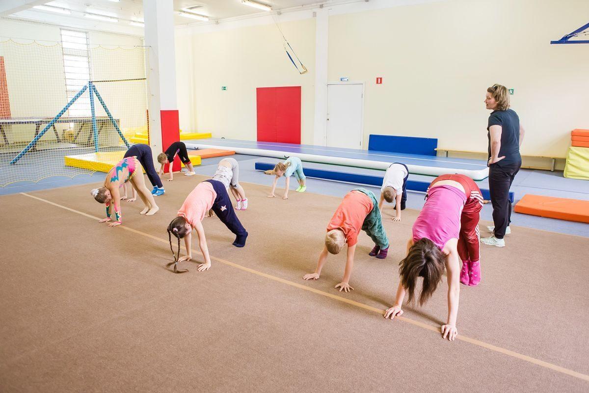 Уроки гимнастики картинки